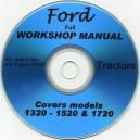 FORD 1320 - 1520 & 1720 WORKSHOP MANUAL ON CD