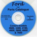 FORD 2600, 3600, 4100, 4600, 5600, 6600, 7600 PARTS CATALOGUE ON CD