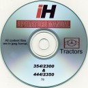 INTERNATIONAL HARVESTER 354-2300 & 444-2350 TRACTORS OPERATING MANUAL ON CD