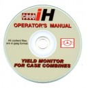 TIELD MONITOR INSTRUCTIONS FOR CASE COMBINES ON CD.