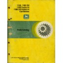 ORIGINAL JOHN DEERE PARTS CATALOGUE FOR 1188, 1188 SII, 1188 HYDRO/4, 1188 SII HYDRO/4