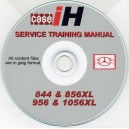 CASE 844, 856, 956 & 1056 SERVICE TRAINING MANUAL ON CD