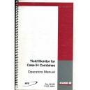 ORIGINAL CASE YIELD MONITOR FOR CASE IH COMBINES OPERATOR'S MANUAL