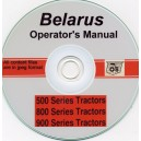 BELARUS 500, 800 & 900 TRACTOR OPERATORS MANUAL ON CD