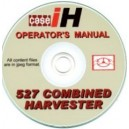 CASE 527 COMBINE OPERATORS MANUAL ON CD
