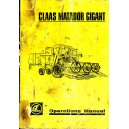 ORIGINAL CLAAS MATADOR GIGANT OPERATIONS MANUAL