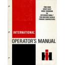 ORIGINAL INTERNATIONAL OPERATOR'S MANUAL FOR TWO ROW CROP UNIT FOR 700 & 800 SERIES HARVESTERS