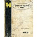 ORIGINAL HYSTER OWNERS AND OPERATOR'S GUIDE.