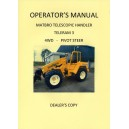 ORIGINAL DEALER'S COPY MATBRO TELERAM 3 4WD - PIVOT STEER OPERATOR'S MANUAL