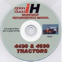 CASE 4490 - 4690 WORKSHOP SERVICE REPAIR MANUAL ON CD