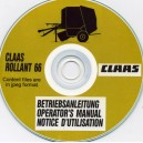 CLAAS ROLLANT 66 OPERATORS MANUAL ON CD