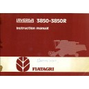 ORIGINAL FIAT LAVERDA 3850 - 3850R INSTRUCTION MANUAL