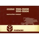 ORIGINAL FIAT LAVERDA 3500-3500R & 3550-3550R INSTRUCTION MANUAL