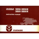 ORIGINAL FIAT LAVERDA 3850-3850R & 3890-3890R INSTRUCTION MANUAL