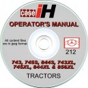CASE 743, 745S, 844S, 743XL, 745XL, 844XL & 856XL OPERATING MANUAL ON CD
