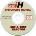 CASE 955 & 1055 OPERATORS MANUAL ON CD