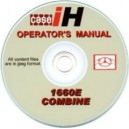 CASE 1660E OPERATORS MANUAL ON CD