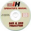 CASE 245 & 255 OPERATORS MANUAL ON CD