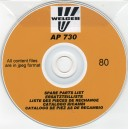 WELGER AP 730 MULTI LANGUAGE SPARE PARTS CATALOGUE ON CD