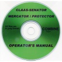 CLAAS SENATOR-MERCATOR-PROTECTOR BALERS OPERATORS MANUAL ON CD