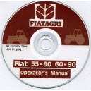 FIAT 55-90 & 60-90 OPERATORS MANUAL ON CD