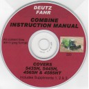 DEUTZ FAHR 5435 H, 5445 H, 5465 H & 5485 HT INSTRUCTION MANUAL ON CD
