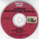 DEUTZ FAHR 5545H, DEUTZ 5565H, DEUTZ 5585HT INSTRUCTION MANUAL ON CD