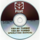FIAT 160-90 TUERBO & 180-90 TURBO OPERATING MANUAL ON CD