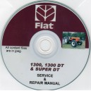 FIAT 1300, 1300DT & SUPER DT SERVICE & REPAIR MANUAL ON CD