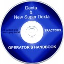 FORD DEXTA & SUPER DEXTA OPERATORS MANUAL ON CD