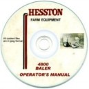 hesston 4800 baler operating manual on cd
