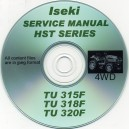 ISEKI TU315, TU318, TU320 HST SERIES SERVICE MANUAL ON CD