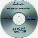 LAMBORGHINI 65-90 TRACTOR WORKSHOP MANUAL ON CD