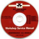 MASSEY FERGUSON 1010 STD & HYDRO, 1020 STD & HYDRO & 1330 STD & HYDRO WORKSHOP SERVICE MANUAL ON CD