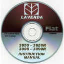 LAVERDA - FIAT 3850 & 3850R, 3890 & 3890R COMBINE INSTRUCTION MANUAL ON CD