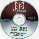 LAVERDA - FIAT 3500 & 3500R, 3550 & 3550 R INSTRUCTION MANUAL ON CD