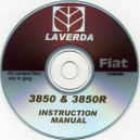 LAVERDA - FIAT 3850 & 3850R INSTRUCTION MANUAL ON CD