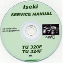 ISEKI TU320F & TU324F SERVICE MANUAL ON CD
