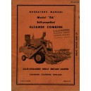 ALLIS CHALMERS EA GLEAMER COMBINE OPERATORS MANUAL