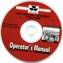 MASSEY FERGUSON M-4 1030, 1035 SYNCHRO OPERATORS MANUAL ON CD