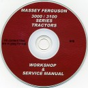 MASSEY FERGUSON 3000-3100 TRACTOR WORKSHOP SERVICE MANUAL ON CD