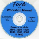 FORD 2600, 3600, 4100, 4600, 5600, 6600, 7600 WORKSHOP MANUAL ON CD
