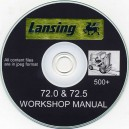 LANSING 72.0 & 72.5 WORKSHOP MANUAL
