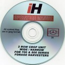INTERNATIONAL HARVESTER 2 ROW CROP UNIT FOR 700-800 OPERATORS MANUAL ON CD