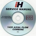 INTERNATIONAL HARVESTER 1420 SERVICE MANUAL ON CD