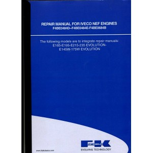 ORIGINAL REPAIR MANUAL FOR IVECO NEF ENGINES