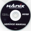 HANIX H09D SERVICE MANUAL ON CD
