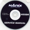 HANIX H55DR SERVICE MANUAL ON CD