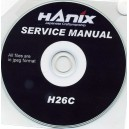 HANIX H26C SERVICE MANUAL ON CD