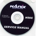 HANIX H56C SERVICE MANUAL ON CD